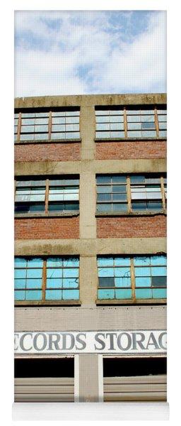 Records Storage- Nashville Photography By Linda Woods Yoga Mat