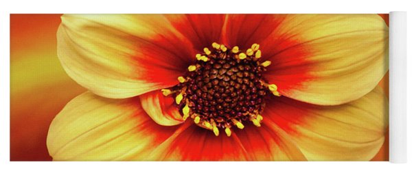 Red And Yellow Inspiration Yoga Mat