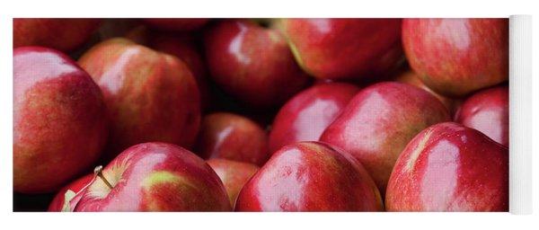 Red Apples Yoga Mat
