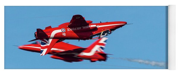 Red Arrows  Yoga Mat