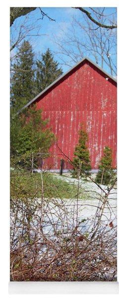 Red Barn Yoga Mat