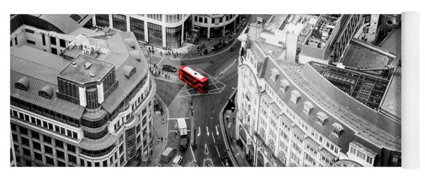 Red Bus Of London Yoga Mat