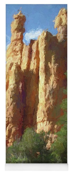 Red Canyon Twins Yoga Mat