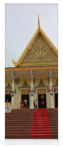 Red Carpet Royal Palace Phnom Penh Yoga Mat