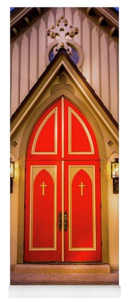 Red Doors Yoga Mat