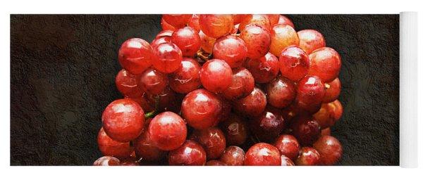 Red Grapes Yoga Mat