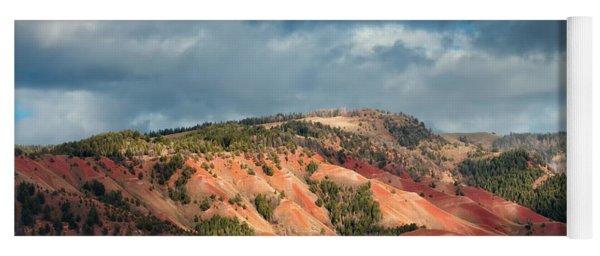 Red Hills Landscape Yoga Mat