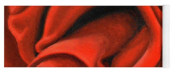 Red Lips Yoga Mat
