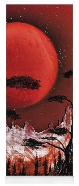 Red Moon Yoga Mat