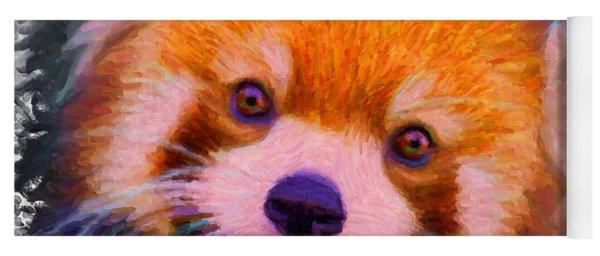 Red Panda Cub Yoga Mat