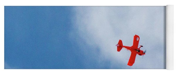 Red Plane Yoga Mat