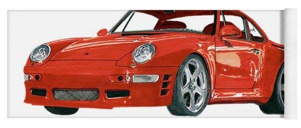 1997  Porsche 993 Twin Turbo R Yoga Mat