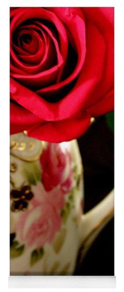 Red Red Rose Yoga Mat