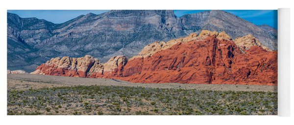Red Rock Canyon Yoga Mat