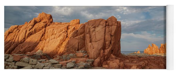 Red Rocks  Yoga Mat