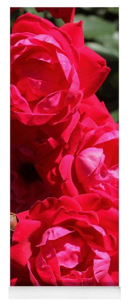 Yoga Mat featuring the photograph Red Rose 2 by Joseph C Hinson Photography