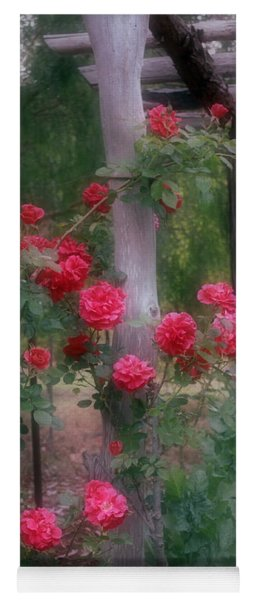 Red Rose Dream Yoga Mat