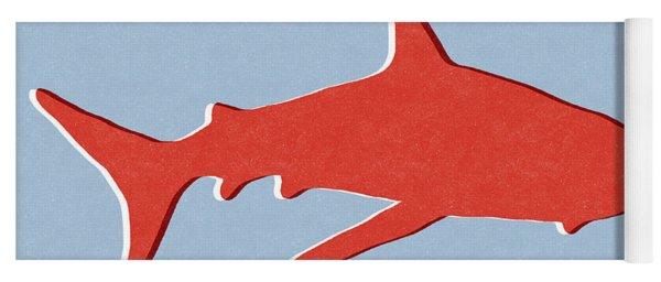 Red Shark Yoga Mat