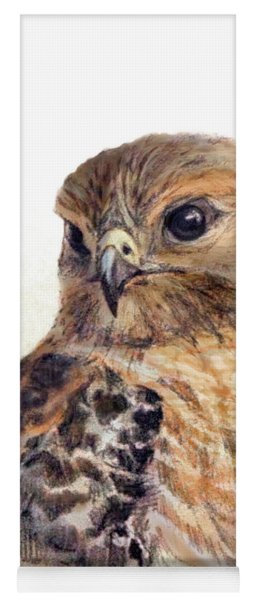 Red-shouldered Hawk Yoga Mat