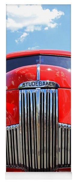 Red Studebaker Yoga Mat
