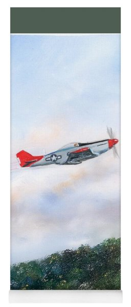 Red Tails Yoga Mat