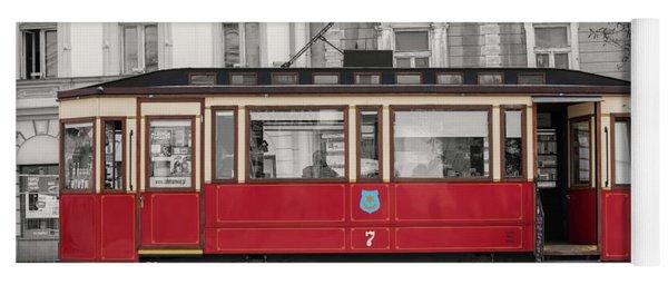 Red Tram Yoga Mat
