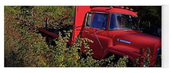 Red Truck Yoga Mat