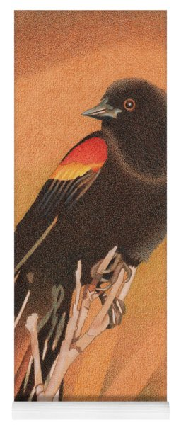Red-winged Blackbird 3 Yoga Mat