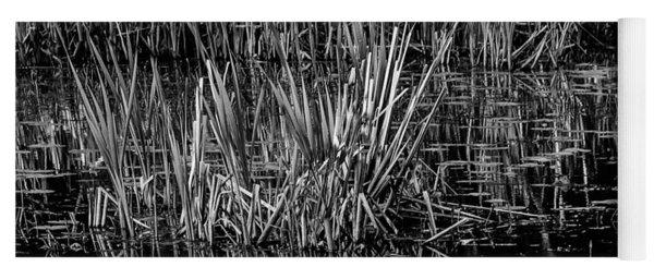 Reeds Reflection  Yoga Mat