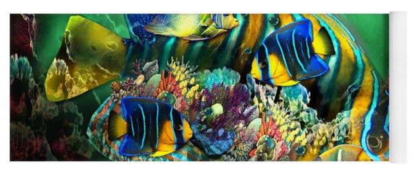 Reef Fish Fantasy Art Yoga Mat