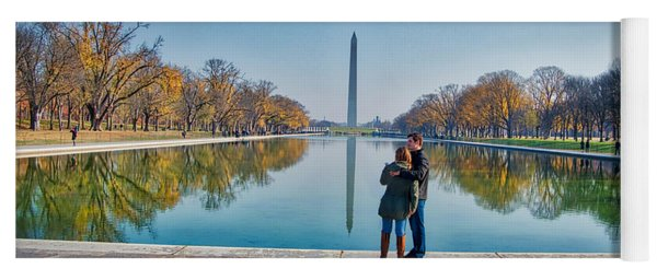 Reflecting Pool Yoga Mat
