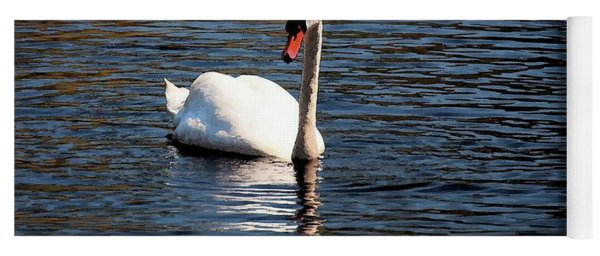 Reflecting Swan Yoga Mat