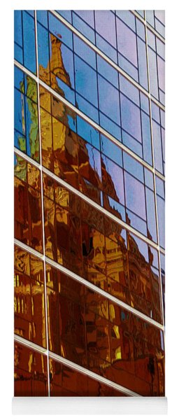 Reflection Of The Past - Tulsa Yoga Mat