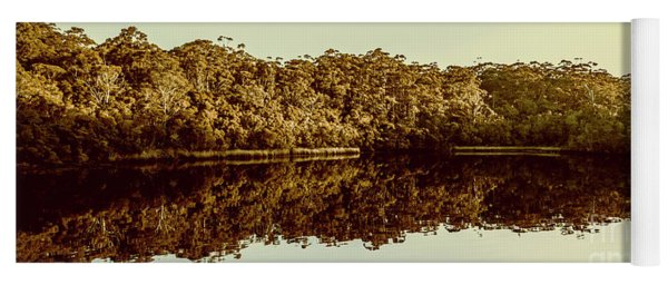 Reflections From Cockle Creek  Yoga Mat