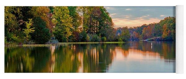 Reflections Of Autumn Yoga Mat