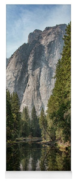Yoga Mat featuring the photograph Reflections Of El Capitan by Kristia Adams