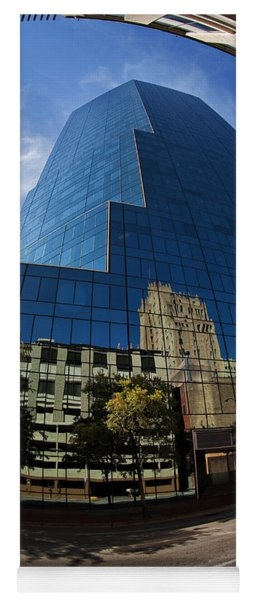 Reflections Of Fort Worth Yoga Mat