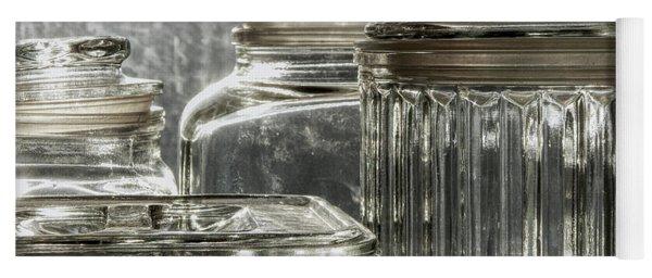 Reflections Of Glass Yoga Mat