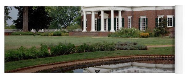 Reflections Of Monticello Yoga Mat