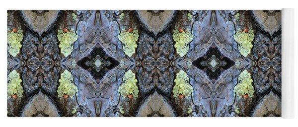 Reflections Of Samurai Yoga Mat