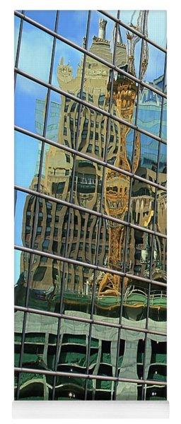 Reflective Chicago Yoga Mat