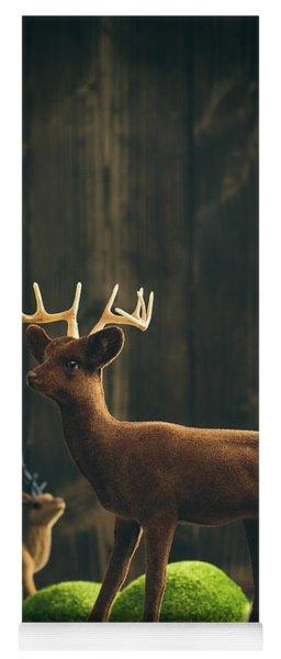 Reindeer Yoga Mat