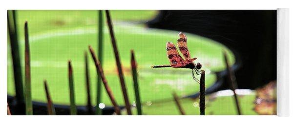 Resting Dragonfly Yoga Mat