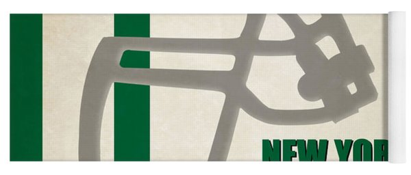 Retro Jets Art Yoga Mat