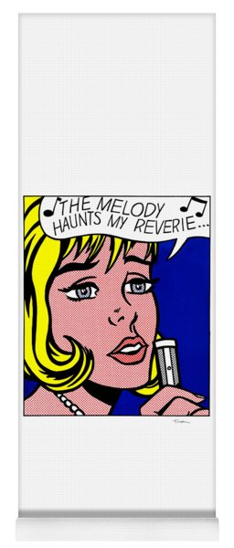 The Melody Haunts My Reverie - Signed  Yoga Mat