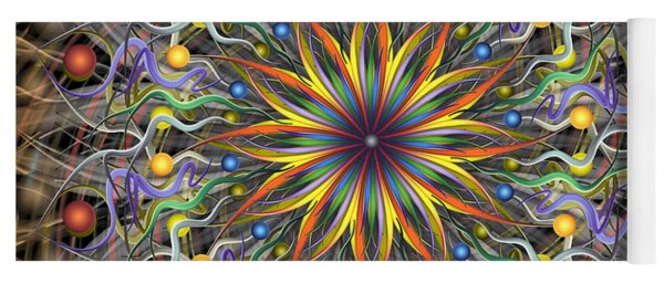 Reverse Cosmosis Yoga Mat