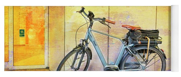 Reykjavik Museum Of Photography Bicycle Yoga Mat