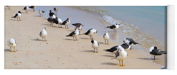 Rhapsody In Seabird Yoga Mat