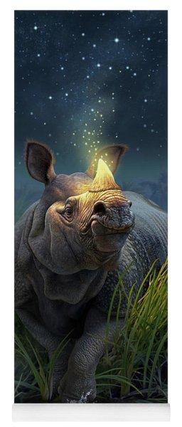 Rhinoceros Unicornis Yoga Mat
