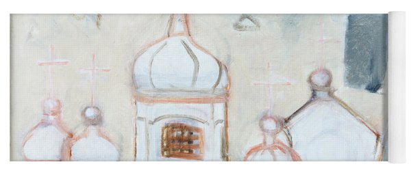 Rhythm Of The Church By St. Tiron Yoga Mat